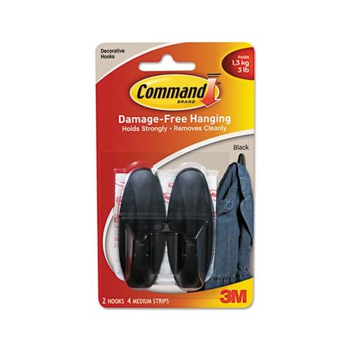 Command Communications, Inc Designer Hooks MMM17081BLK