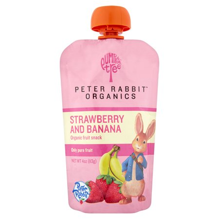 Peter Rabbit Organics Fruit Snack   Strawberry Banana 4 0Oz   4 Pack