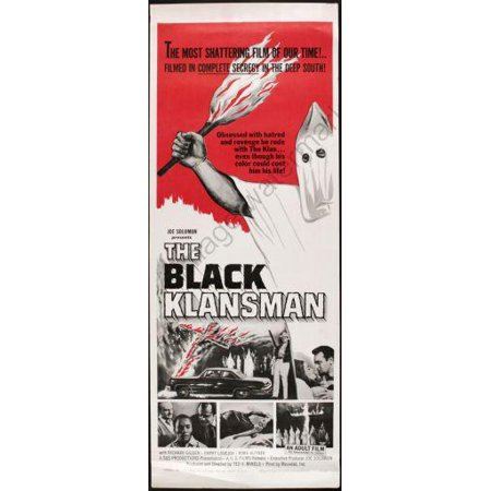 Klansman Poster (Black Klansman Movie Poster Insert 14x36 )