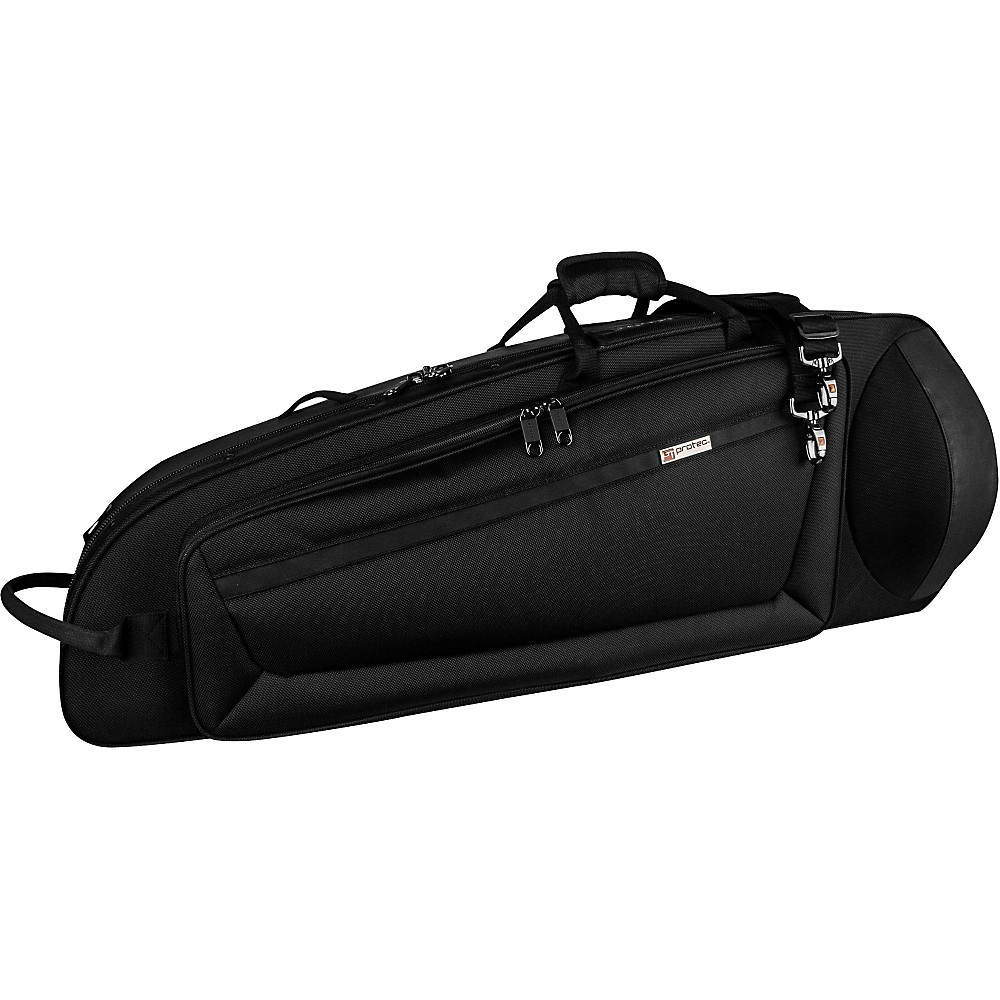 Protec IPAC Series Contoured Bass Trombone Case Black by Protec