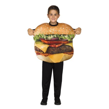 Cheeseburger Child Costume](Cheese Burger Costume)