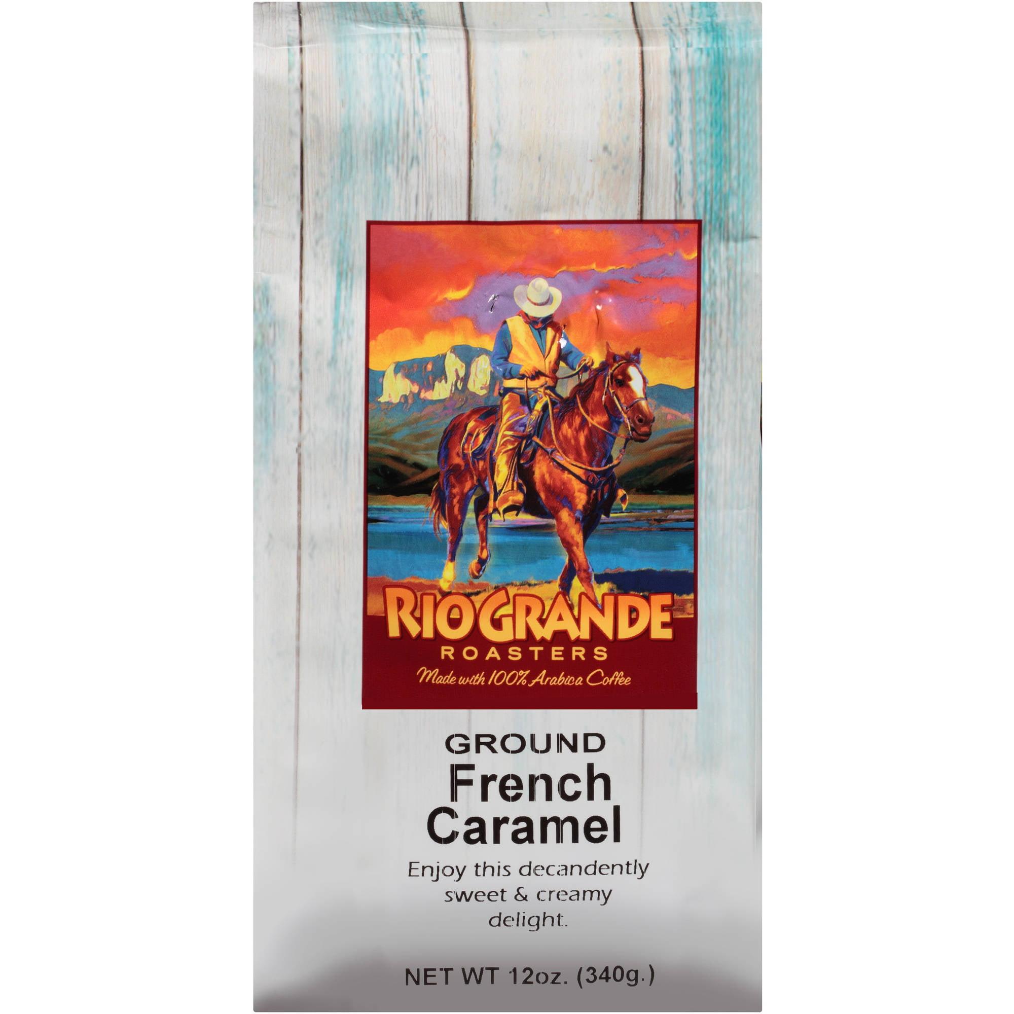 Rio Grande Roasters French Caramel Ground Coffee, 12 oz