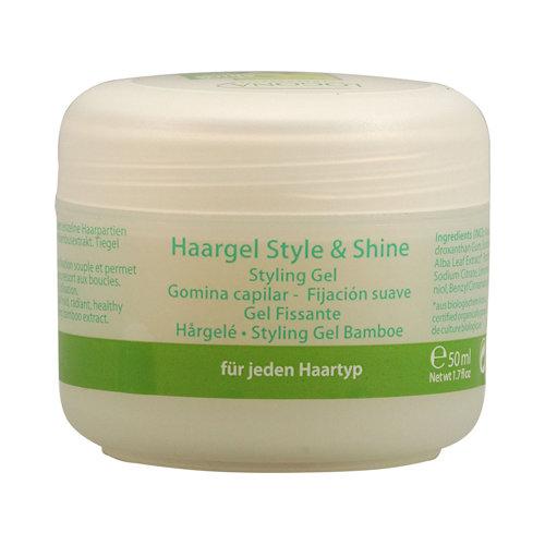 Logona Naturkosmetik Hair Styling Gel Style and Shine 1.7 fl oz