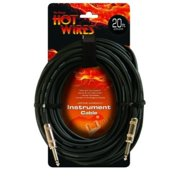 On-Stage IC-20 Instrument Cable, Standard (QTR-QTR, 20')