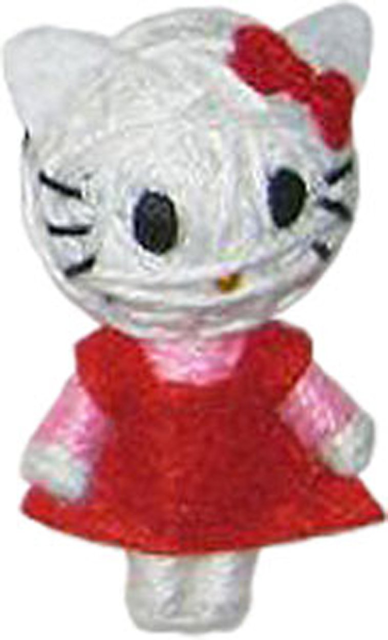 Cell Phone Charm Hello Kitty Red Dress New Toys String Doll vd-hk-0001 by C & D