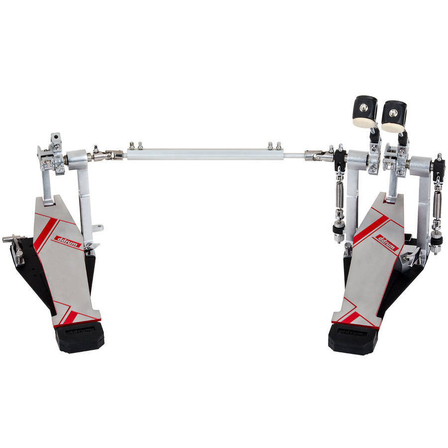 ddrum Quicksliver Double Bass Drum Pedal by ddrum