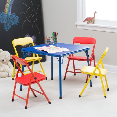 Showtime Childrens Folding Table and Chair Set Multi
