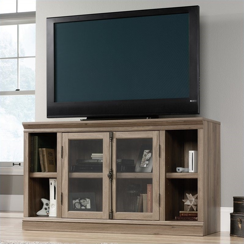 Sauder Barrister Lane TV Stand in Salt Oak