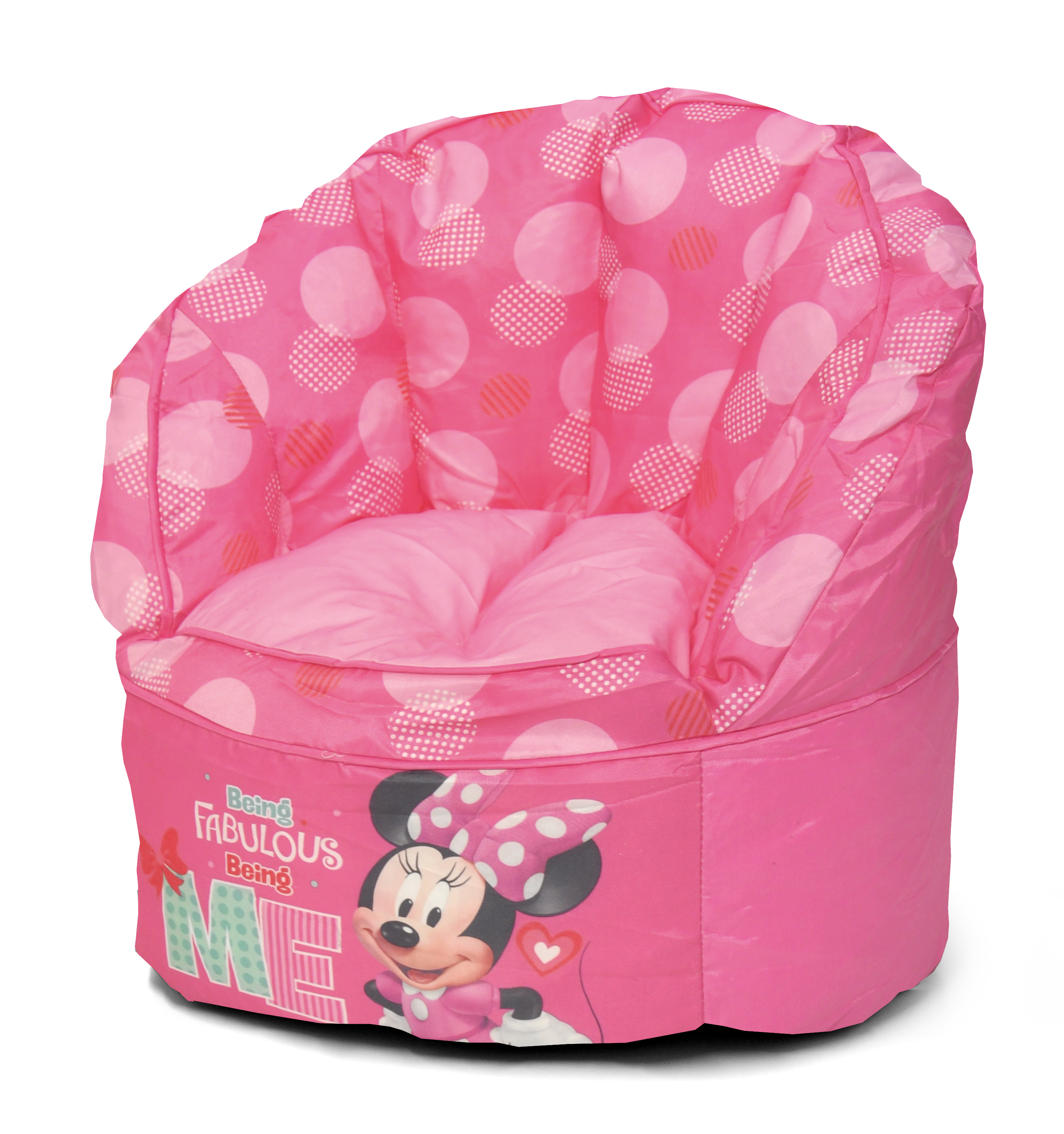 Disney Minnie Mouse Kids Bean Bag Chair