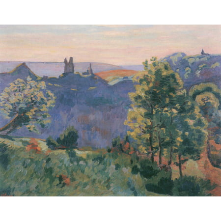 Framed Art for Your Wall Guillaumin, Jean -Baptiste Armand - Bréjots - on the first days in May morning 10 x 13