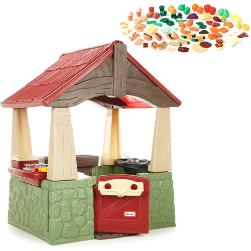 little tikes home garden playhouse and step2 play food set value bundle walmartcom - Little Tikes Home And Garden Playhouse