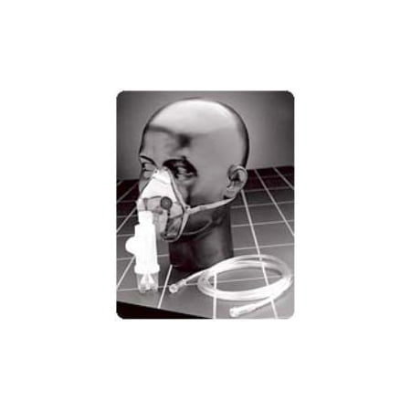 Adult Elongated Aerosol Mask w/Mvp & Elastic Strap Model #: SA8107 Qty of 1](Halloween Atcs)