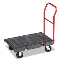"Rubbermaid Commercial Heavy-Duty Platform Truck Cart, 500 lb Capacity, 24"" x 36"" Platform, Black by RUBBERMAID COMMERCIAL PROD."