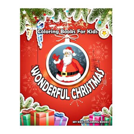 Wonderful Christmas Coloring Books
