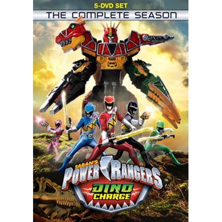 Power Rangers Dino Charge: The Complete Season (DVD)