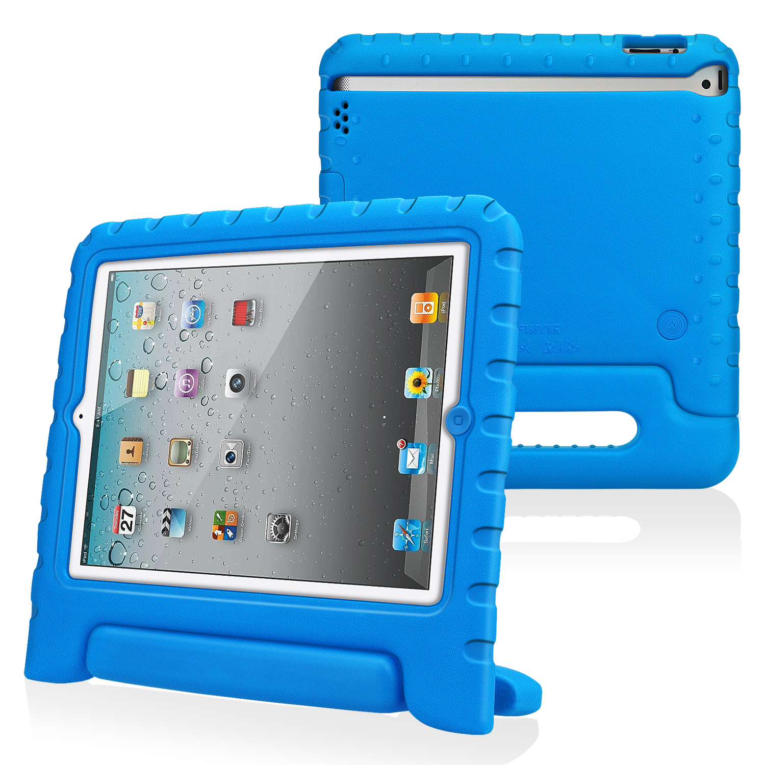 Fintie Apple iPad 2/ iPad 3/ iPad 4 Kiddie Case - Ultra Lightweight Shock Proof Kids Friendly Cover, Blue