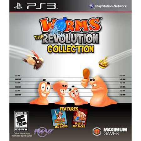 Worms The Revolution Collection (ps3) (Ps3 Rock Revolution)
