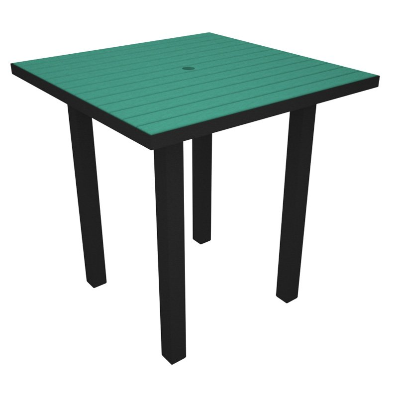 POLYWOOD® Euro Recycled Plastic 36 in. Counter Height Dining Table