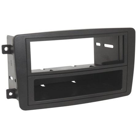 C-class Dash - MZ2340B 2001-04 Mercedes Benz C-Class Double DIN or DIN w/pocket Install Dash Kit By Scosche Ship from US