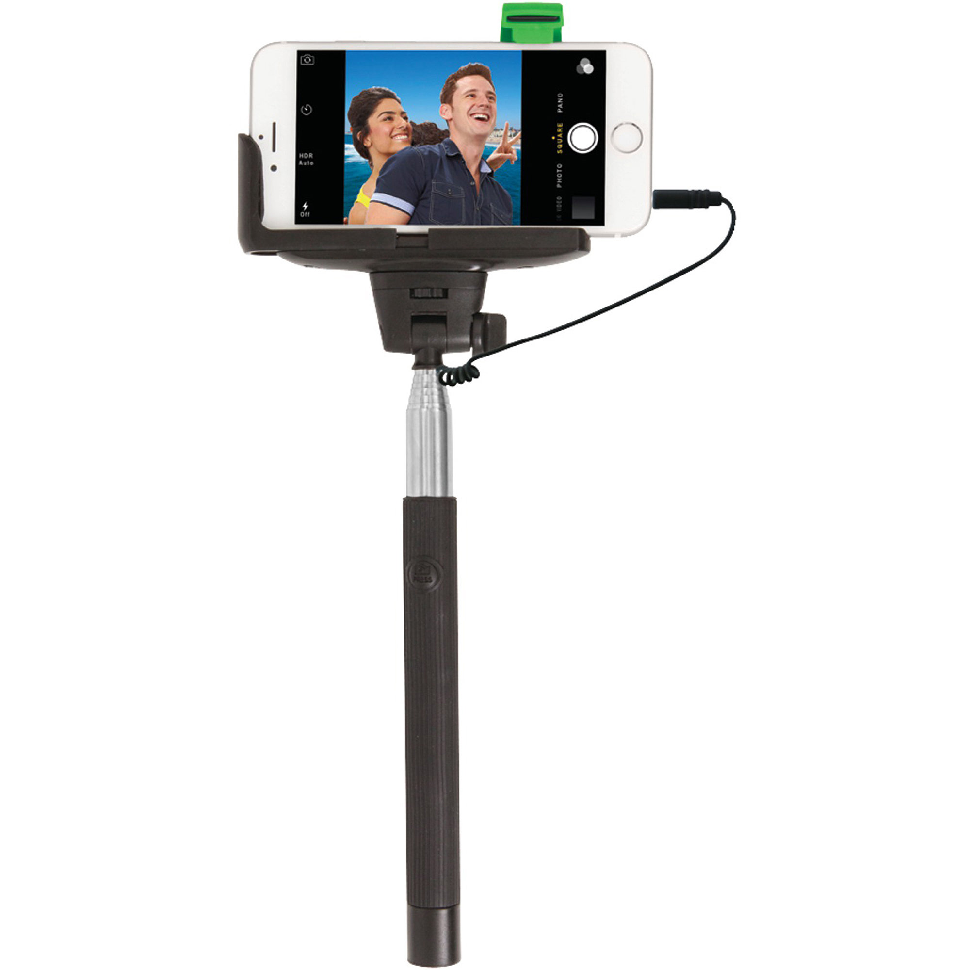 Retrack Apple iPhone 4/5/5s/6 and Samsung Galaxy S 3/4 Selfie Stick with...