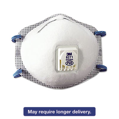 Particulate Respirator 8271, P95, 10 Box, Sold as 1 Box, 10 Each per Box by