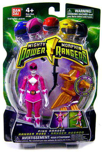 Power Rangers Mighty Morphin 2009 Pink Ranger Action Figure by