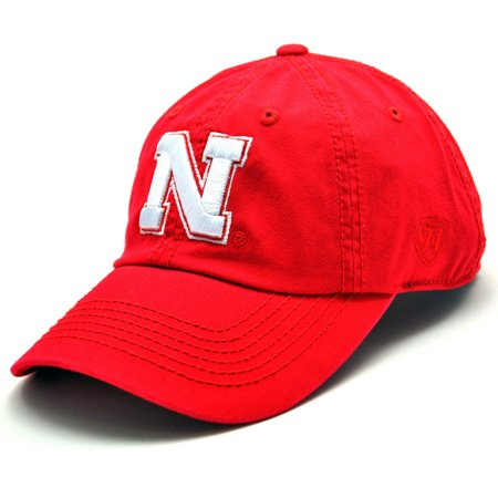 Nebraska Cornhuskers Enzyme Washed Adjustable Hat - Red