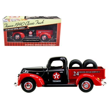 "1940 Ford Pickup Truck ""Texaco"" with Tires 1/32 Diecast Model Car by Beyond The Infinity"