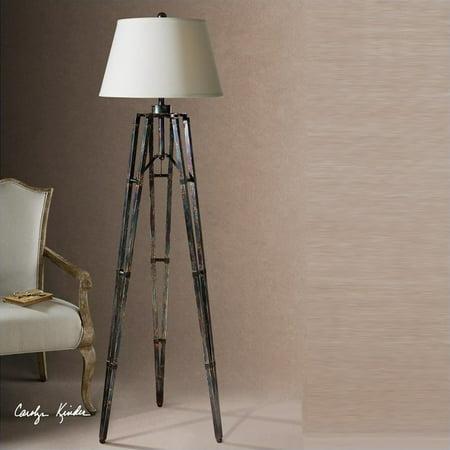 Uttermost Tustin Tripod Floor Lamp In Oxidized Bronze