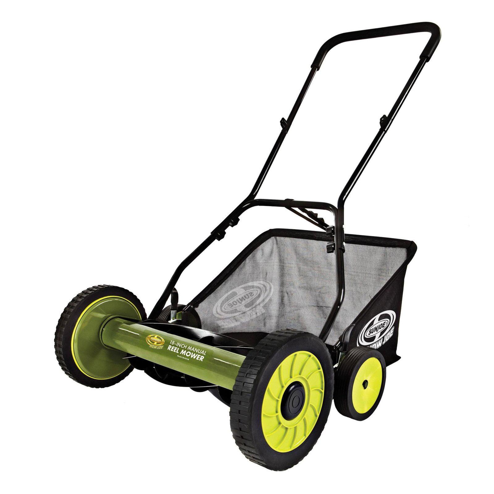 Sun Joe MJ501M Mow Joe 18 in. Manual Reel Mower with Grass Catcher by Snow Joe LLC