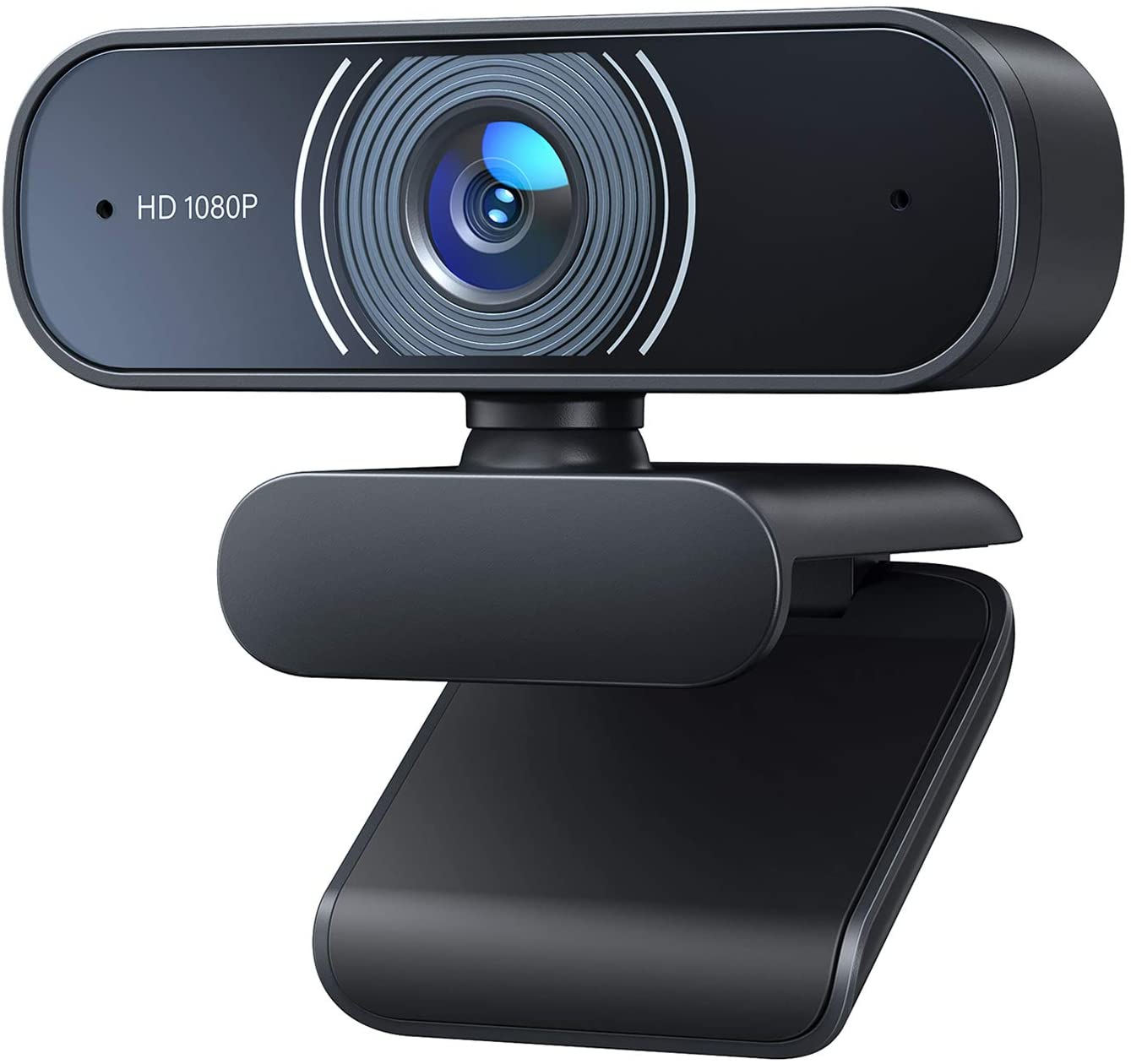 USB Plug and Play Full HD Video Camera for Computers PC Laptop Desktop Dual Built-in Microphones Conference Video Calling RALENO 1080P Webcam Streaming