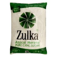 Zulka Cane Sugar, 4 LB (Pack of 10)
