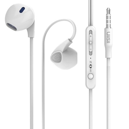 Earphones_ Uiisii U1 In Ear Headphones with Microphone and Volume Control_ Cute Earbuds for iPhone 6 6S 6 Plus_ iPod_ iPad_