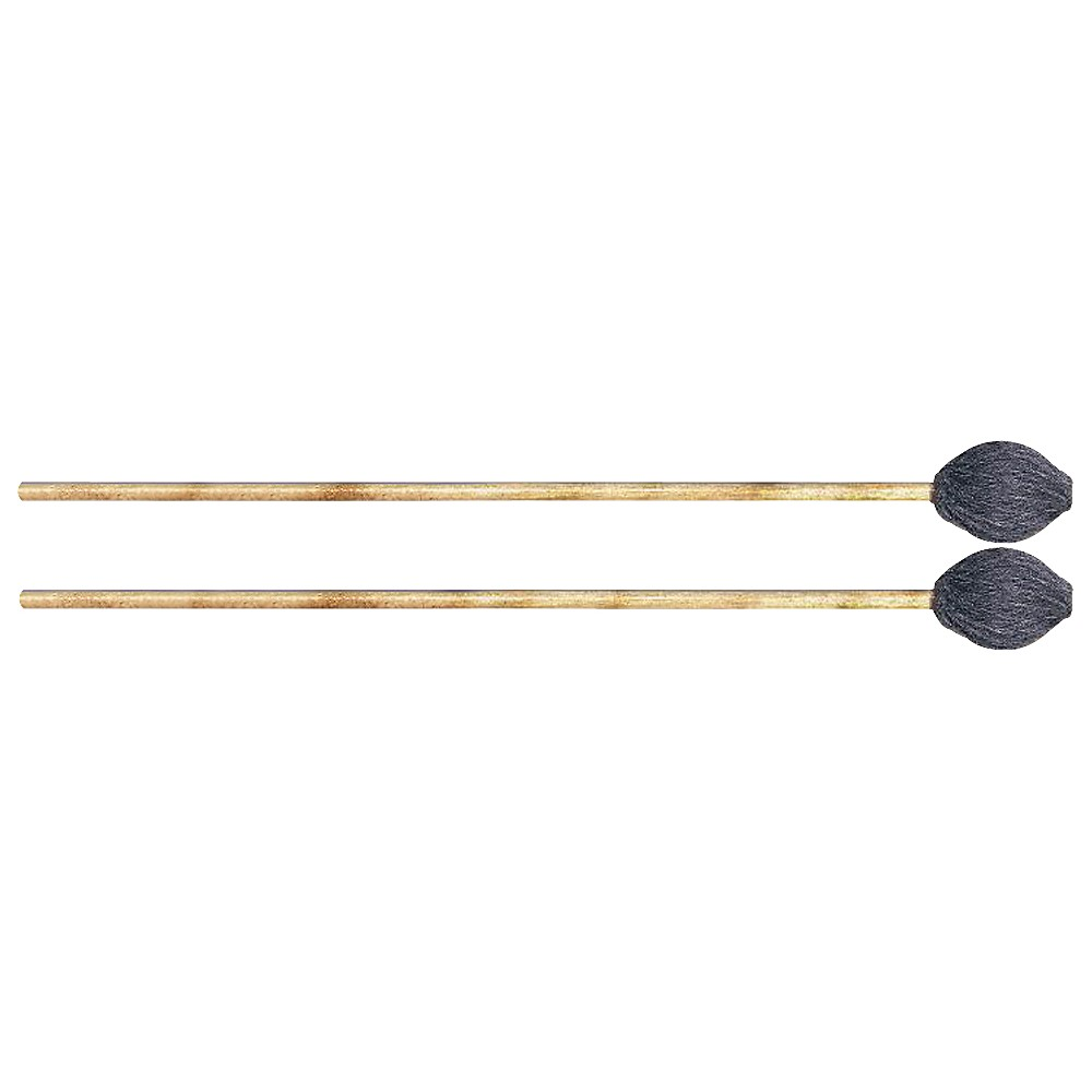 Innovative Percussion Field Series Gray Yarn Marimba Mallets by Innovative Percussion