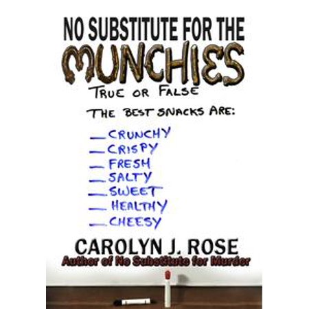 No Substitute for the Munchies - - Halloween Munchies
