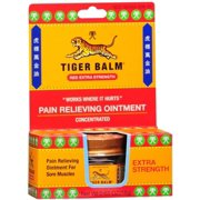 Tiger Balm Extra Strength 0.63 oz (Pack of 4)