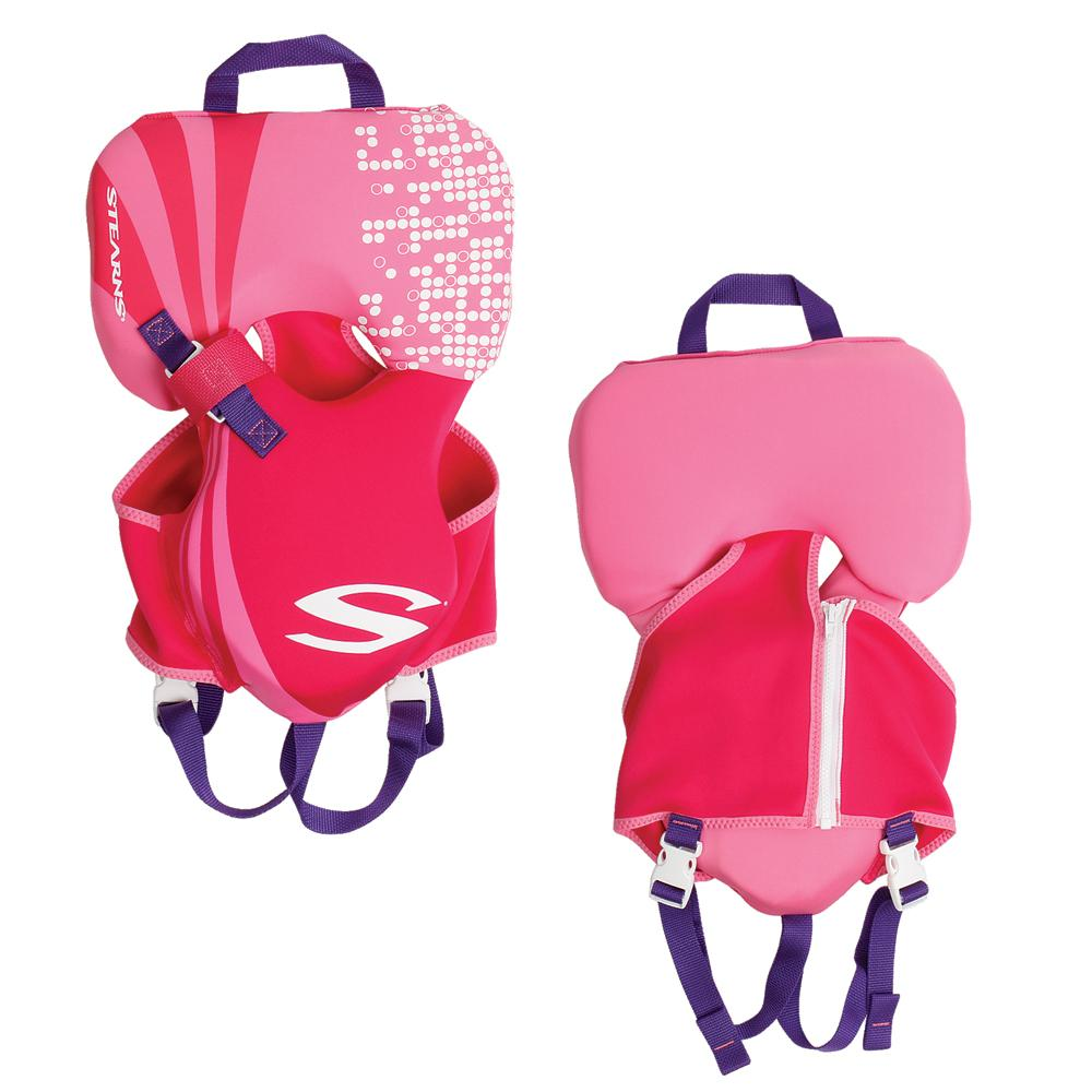Stearns Puddle Jumper Infant Hydroprene Life Jacket, Pink by COLEMAN