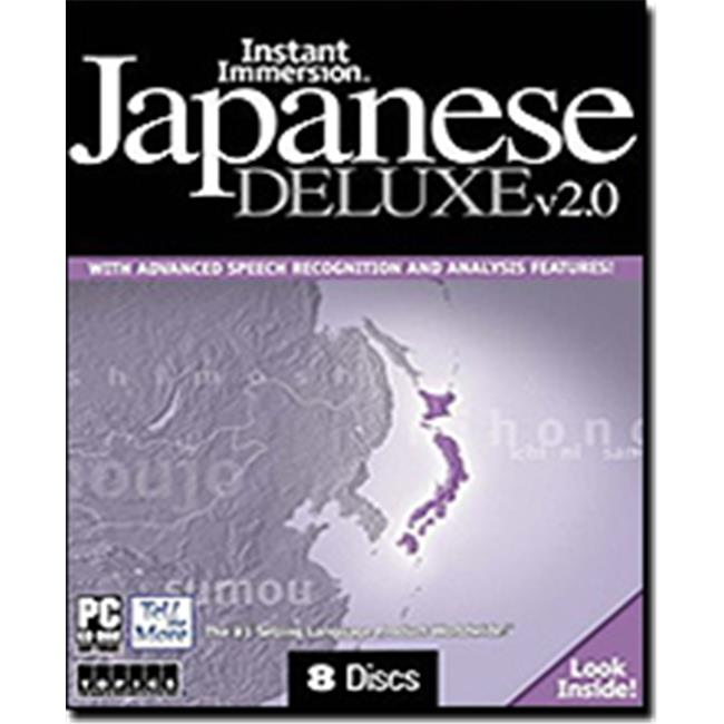 TOPICS Entertainment 80879 Instant Immersion Japanese Deluxe 2.0