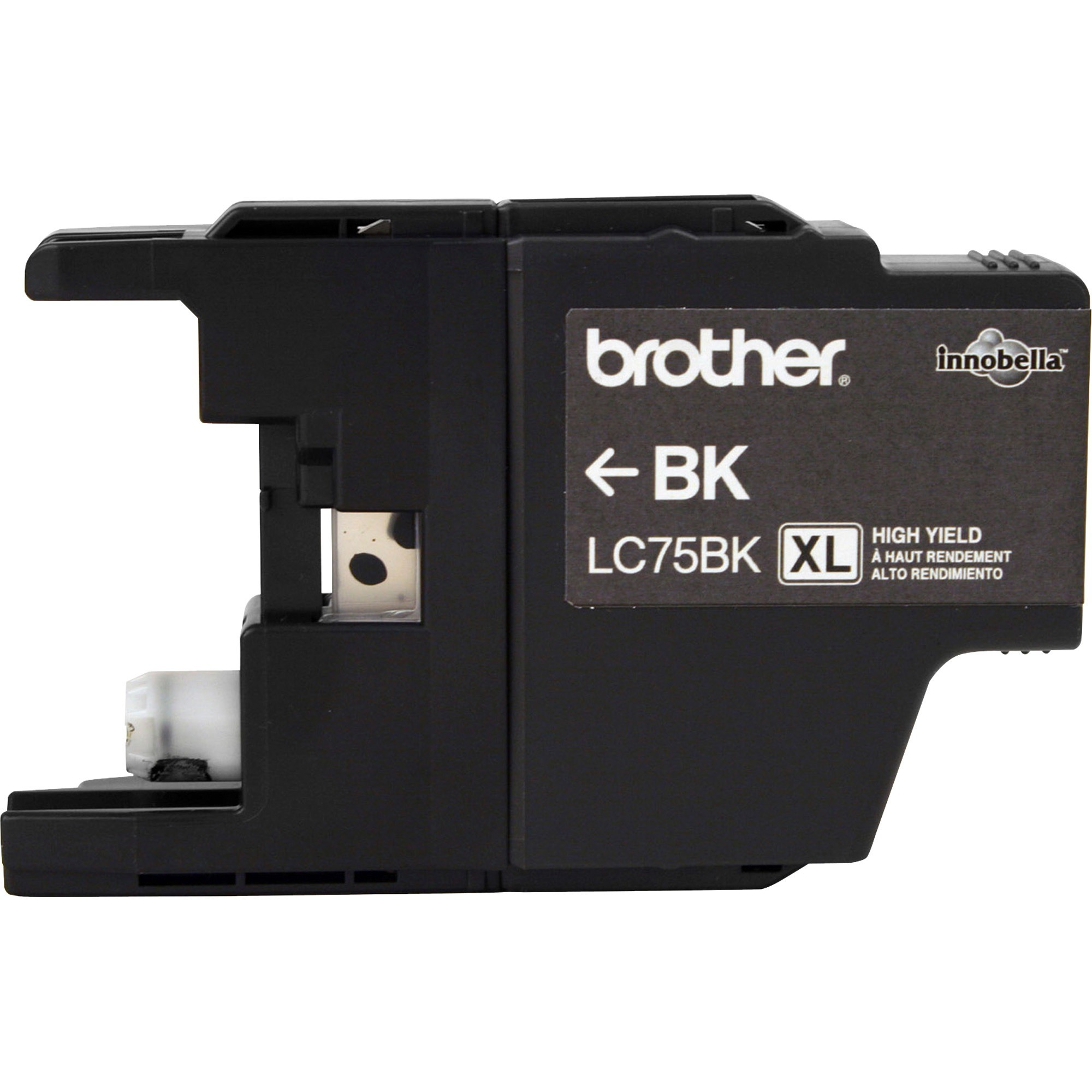 Brother LC75BK Innobella High-Yield Ink, Black