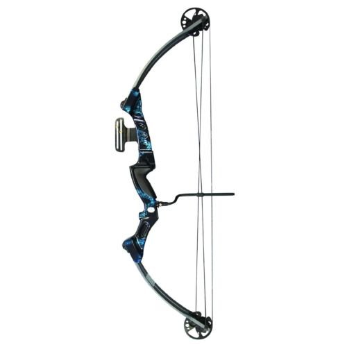 SAS Primal 35-50 lbs Target Compound Bow 40 1 2 ATA with Red Riser and Carbon Limbs by SAS