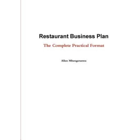 Restaurant Business Plan   The Complete Practical Format