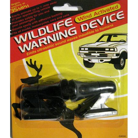 2 Deer Whistles Wildlife Warning Devices Animal Alert Car Safety ...