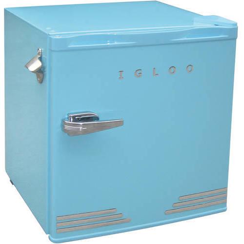 Igloo 1 6 Cu Ft Retro Compact Refrigerator With Side