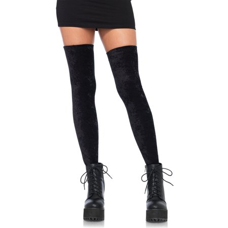 Crushed velvet thigh high - image 1 de 1