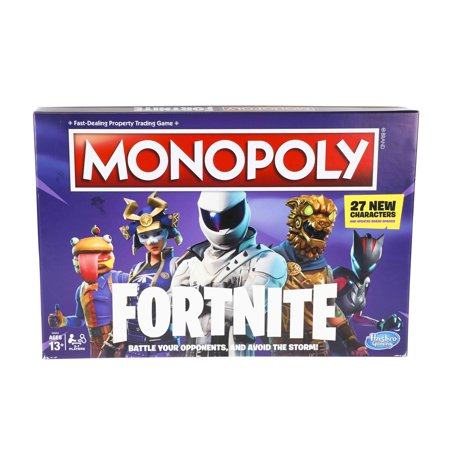 Monopoly: Fortnite Edition Board Game , Ages 13 and Up Monopoly Philadelphia Eagles Toy