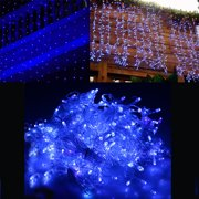 image 118 x 118 300led curtain lights string light for christmas party decoration blue