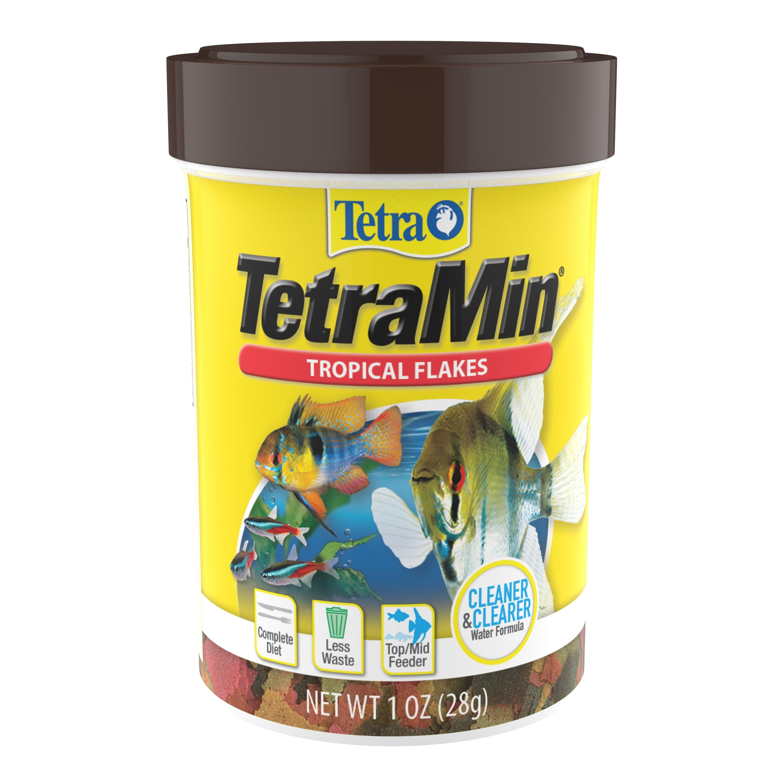Tetra TetraMin Balanced Diet Tropical Flakes, 1.0 oz