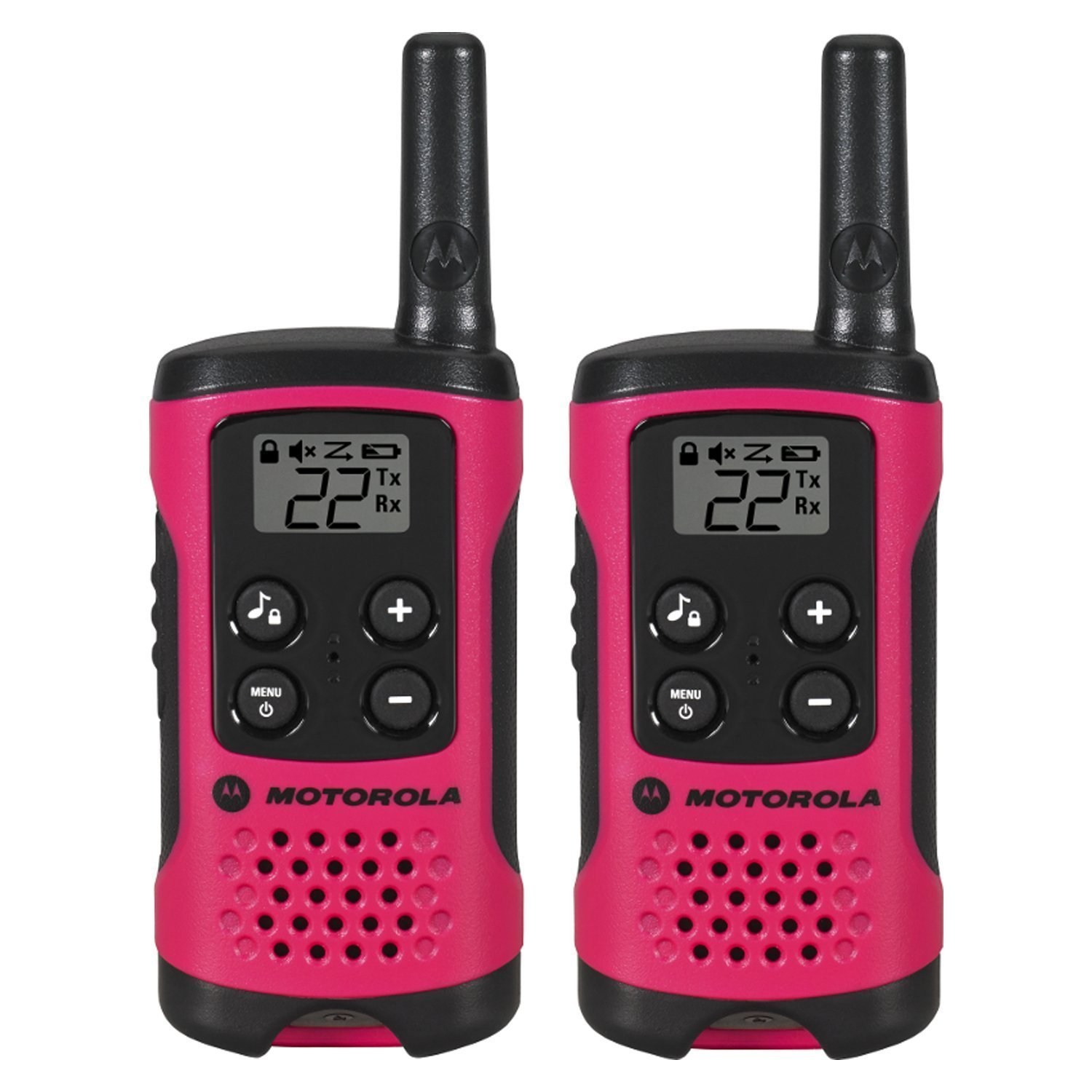 Wireless Walkie Talkies, Motorola Talkabout T107 Pink Radio Walkie Talkies,  2