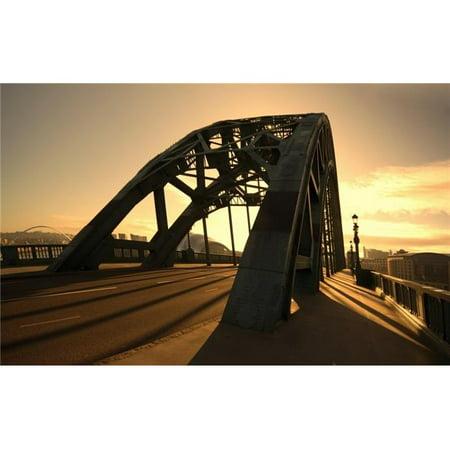 Posterazzi DPI1836307 Bridge Newcastle Upon Tyne England Poster Print, 19 x 11 - image 1 of 1