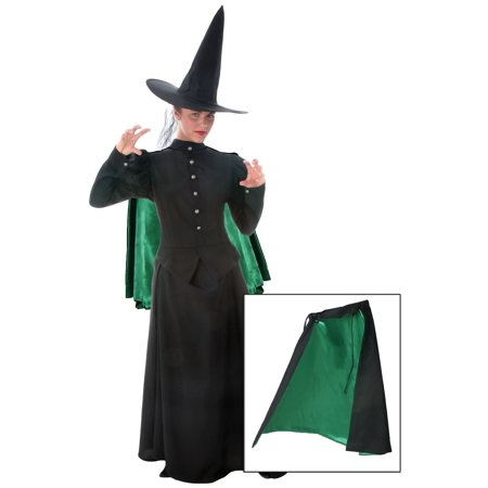 Adult Witch Cape (Green Witch Halloween Haunt)